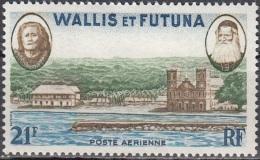 Wallis & Futuna 1955 Yvert Poste Aérienne 16 Neuf ** Cote (2015) 5.50 Euro Vue De Mata-Utu - Neufs