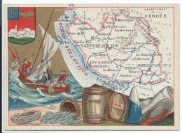 Départements De France/Image Pédagogique/VENDEE/ Napoléon-Vendée/Vers 1880-1890   CRD85 - Autres