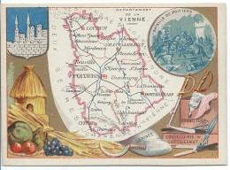 Départements De France/Image Pédagogique/VIENNE / Poitiers/Vers 1880-1890   CRD86 - Autres
