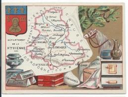 Départements De France/Image Pédagogique/HAUTE VIENNE / Limoges/Vers 1880-1890   CRD87 - Autres