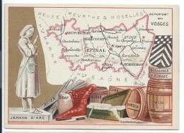 Départements De France/Image Pédagogique/VOSGES/ Epinal /Vers 1880-1890   CRD88 - Autres
