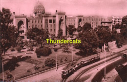 CPSM PHOTO HELIOPOLIS PALACE HOTEL TRAM EDITION SOLLY CAIRO - Autres