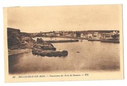 (9265-56) Belle Isle En Mer - Panorama Du Port De Sauzon - Belle Ile En Mer
