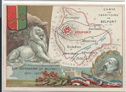 Départements De France/Image Pédagogique/TERRITOIRE DeBELFORT/Vers 1880-1890   CRD90 - Autres