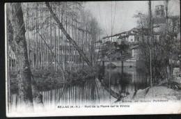 87, BELLAC, PONT DE LA PIERRE SUR LE VINCOU - Bellac