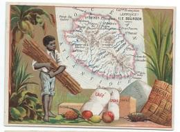 Possessions De France/Image Pédagogique/ILE De La REUNION/Ile Bourbon/Saint Denis/Vers 1880-1890   CRD94 - Autres