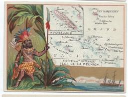 Possessions De France/Image Pédagogique/NOUVELLE CALEDONIE/Nouméa/OCEANIE/Tahiti/Vers 1880-1890   CRD96 - Autres