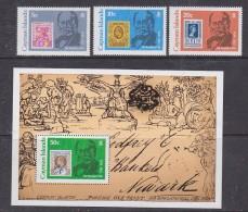 Cayman Islands 979 Sir Rowland Hill 3v + M/s ** Mnh (29963) - Kaaiman Eilanden