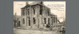 LA GRANDE GUERRE 1914- 1918 LA MAIRIE DU VILLEGE D HERBECOURT - Guerre 1914-18