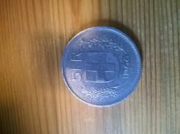 Suisse 5 Francs 1968 - Suisse