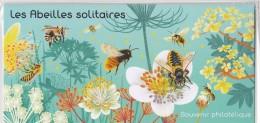Souvenir Philatélique  2016 - Les Abeilles Solitaires  - Tirage : 42 000 Exemplaires - Blocs Souvenir