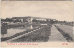 26916g CORRECTION  COTE CANAL - Vilvorde - 1912 - Vilvoorde