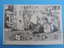 Carte Propagande , MADE IN GERMANY . - Militaria