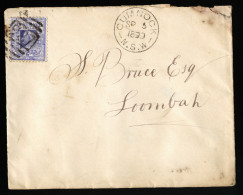 A3997) New South Wales Australia Cover From Cumnock09/05/1899 - Briefe U. Dokumente