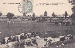 29J - 52 - Siège De Langres - Haute Marne - Manoeuvres 1906 - Camp De Villiers-sur-Suize - Au Lavoir - N° 437 - Langres