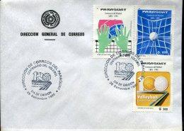 5712 Paraguay ,  Fdc 1995  Volleyball Centenary - Voleibol