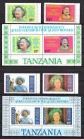 T 00041 - Tanzanie 1985, N° 262A à 262D Et Blocs 40A Et 40B