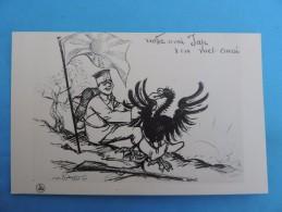 Carte Caricature , M Radiguet. Notre Ami Jap - War 1914-18