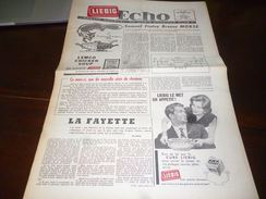 CB1LC157 Liebig Echo Organe Mensuel Du Liebig Chromo Club - Septembre 1960 - Avec Recettes De Cuisine - Oxo - Publicité
