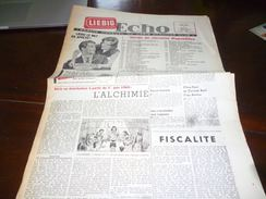 CB1LC157 Liebig Echo Organe Mensuel Du Liebig Chromo Club - Juin 1960 - Avec Recettes De Cuisine - Oxo - Publicité