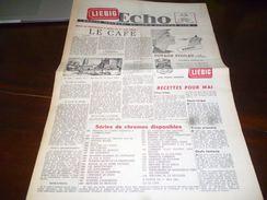 CB1LC157 Liebig Echo Organe Mensuel Du Liebig Chromo Club - Mai 1960 - Avec Recettes De Cuisine - Oxo - Publicité