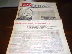 CB1LC157 Liebig Echo Organe Mensuel Du Liebig Chromo Club - Octobre 1957- Avec Recettes De Cuisine - - Publicité