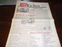 CB1LC157 Liebig Echo Organe Mensuel Du Liebig Chromo Club - Juillet 1960 - Avec Recettes De Cuisine - - Publicité