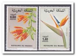 Marokko 1983, Postfris MNH, Flowers - Marokko (1956-...)