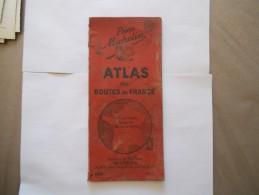 PNEU MICHELIN ATLAS DES ROUTES DE FRANCE 1950 - Cartes Routières