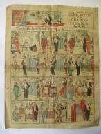 Comic Section Of The San Francisco Examiner 1914 - 4 Pages - Manus, Swinnerton, Opper, Outcault - Boeken, Tijdschriften, Stripverhalen