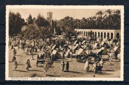 (1885) AK Libyen - Tripolitania - Mercato Di Suc-el-Giuma - Libyen
