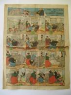 Comic Section Of The Los Angeles Examiner 1914 - 4 Pages - Katzenjammer Kids, Swinnerton, Manus, Outcault - Livres, BD, Revues