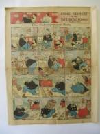 Comic Section Of The San Francisco Examiner 1914 - 4 Pages - Katzenjammer Kids, Opper, Manus, Outcault - Boeken, Tijdschriften, Stripverhalen