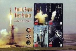 GRENADA 2006 APOLLO-SOYUZ M/S (KLEINBOGEN) MNH **  SPACE - Other