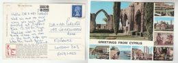1971 BRITISH FORCES CYPRUS Stamps COVER (postcard) To GB Fpo - Cyprus (Republic)