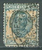 ITALIA 1926: Sassone 203 / YT 185, PERFIN, O - FREE SHIPPING ABOVE 10 EURO - Usados