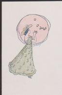 CPA:Pousthomis:Art Nouveau:Femme Au Ballon - Illustrateurs & Photographes
