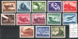 1943  GERMANIA REICH   Serie Completa Nuova  * MLH - Germania