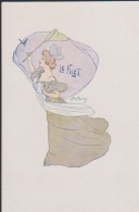 CPA:Pousthomis:Art Nouveau:Le Filet - Illustrateurs & Photographes