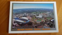 Sydney Telstra Olympic Stadium Cartolina Stadio Postcard Stadion AK Carte Postale Stade Estadio Stadium - Calcio