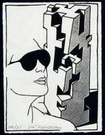 [QU005] GIO' POMODORO - Litografia Su Carta - Prova D'Autore - Cm. 10x13,5 - Lithographies