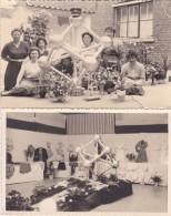 Neufvilles Exposition Des Travaux De Couture Des Elèves De L'Ecole De Coupe    1958 (local Derrière La Maison Communale) - Photos