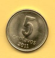 ARGENTINA - 5 Centavos 2011 SC - Argentina