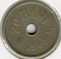 Roumanie Romania 20 Bani 1905 KM 33 - Rumania