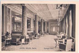 BERLIN Hotel Adlon Spiegel Saal TOP-Erhaltung Ungelaufen - Mitte