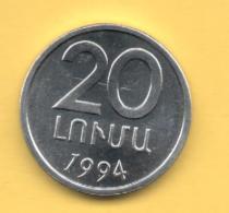 ARMENIA 20 Luma 1994  KM52 - Armenia