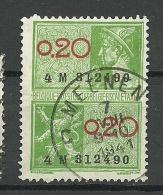 BELGIEN Belgium Revenue Fiscal Tax Steuermarke O 1941 - Revenue Stamps