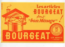 Buvard - Les Articles Bourgeat, Les Abrets (Isère) - Buvards, Protège-cahiers Illustrés