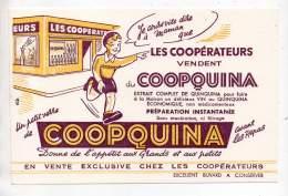 Buvard - Les Coopérateurs Vendent Du Coopquina - C