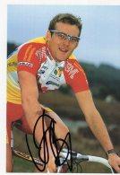 3684  CP Cyclisme Alexei Sivakov Dédicacée - Cyclisme